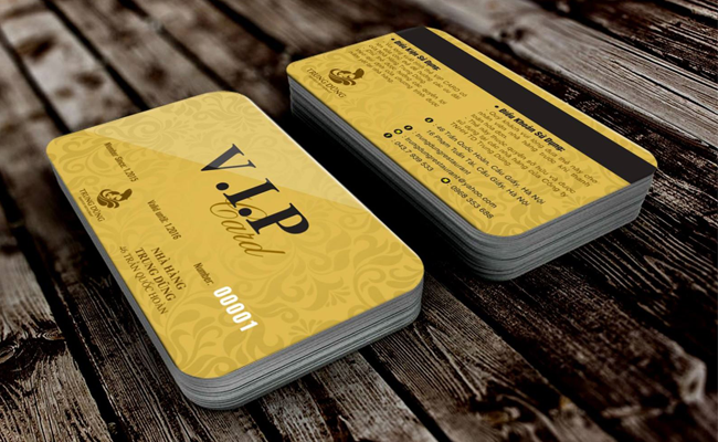 dịch vụ in thẻ vip