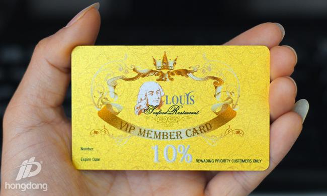 thẻ vip tri ân khách hàng