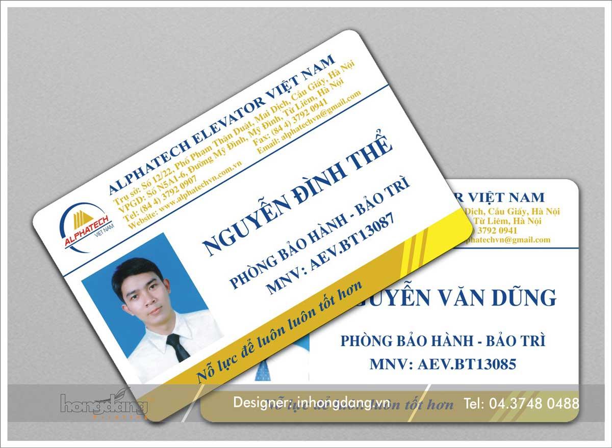 In thẻ nhân viên 01