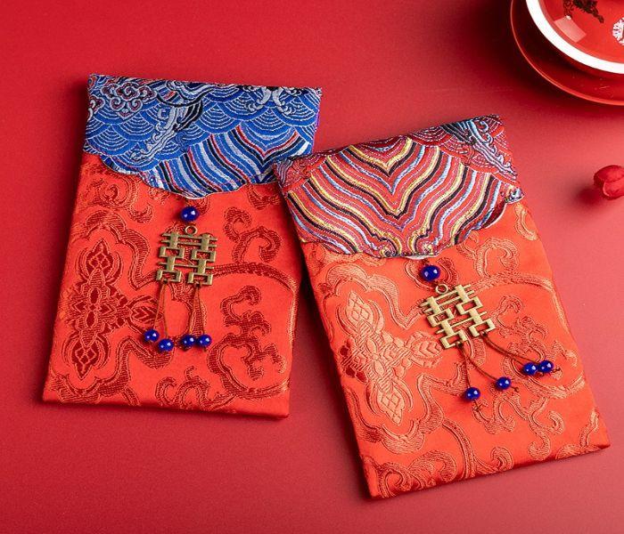 10 mẫu bao lì xì vải gấm đẳng cấp ai cũng muốn có